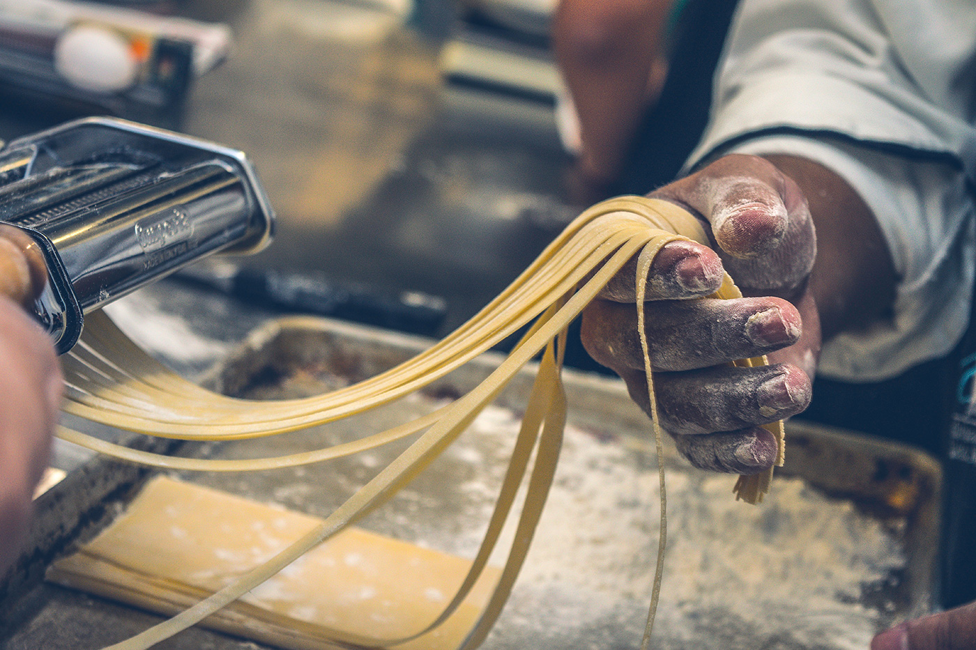 Making fresh pasta is easy